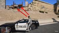 GTA5警察模组: 小富第一天上班, 最后让嫌犯逃脱了