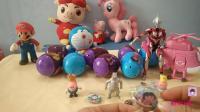 拆封奇趣蛋分享 猪猪侠小马宝莉与惊喜蛋玩具视频