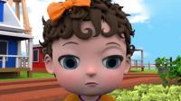 幼儿益智动画, 3D农场里的小女孩用魔法种出了美丽的花朵!