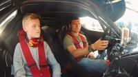 曼岛TT最疯狂车手试驾法拉利最强座驾, 盖马丁的车你敢坐吗?