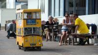 这才是世界上最小的公交车, 高度只有1.3米, 想坐还得提前预约!