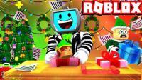 小格解说 Roblox 圣诞礼物模拟器: 欢乐圣诞世界! 礼物堆得比树高? 乐高小游戏