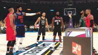【布鲁】NBA2K19全明星三分球大赛! 库里哈登欧文乔治争夺冠军!