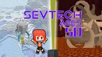 太空服不毁之谜——甜萝酱我的世界Minecraft《SEVTECH AGES》赛文科技模组生存#50