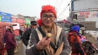 农村集市上五毛钱一个的毛鸡蛋你敢吃吗? 摄像师看着都犯恶心了