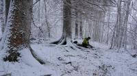 荒野生存体验之冬季露营旅行