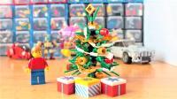 乐高MOC教你用乐高拼装圣诞树积木