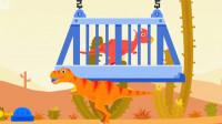侏罗纪救援 英雄历险记 霸王龙的超级救援任务 勇闯恐龙岛 恐龙再现 陌上千雨解说