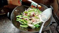 一道美味健康低脂高蛋白质的洋葱荷兰豆炒鸡胸肉, 运动健身人士必备菜肴