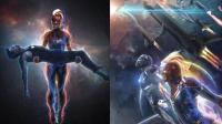 《复联4》惊奇队长与小辣椒联手营救钢铁侠, 穿上战甲的小辣椒实力不输惊奇队长!