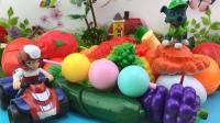 汪汪队立大功食玩水果切切看玩具分享