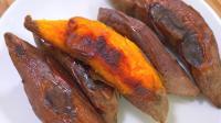 电饭煲烤红薯, 一个秘诀, 又香又甜流蜜汁, 比买的干净便宜又好吃