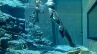 世界最惊险的5个泳池, 穿着衣服在水中行走, 如何做到的?