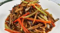 鲁菜经典家常炒茄子, 素菜照样好吃下饭