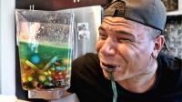 小伙自制史上最酸饮料, 尝了一口就悲剧了, 活着不好吗?