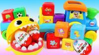 亲子过家家《一起来玩魔法积木变奇趣蛋》宝宝最爱玩的亲子游戏