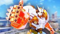 【屌德斯&小熙】 巨型机器人乱斗 巨大渔夫机器人上演我钓我自己