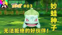 ★精灵宝可梦Let's Go! ★动画片剧情! 常青森林收服妙蛙种子! ★03
