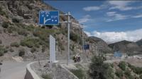 川藏线的这个路口, 右转就是去察隅的方向, 传说中的丙察察我们来了!