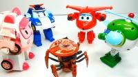 超级飞侠玩具视频第3期:八爪机器人