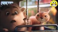 奥地利圣诞节创意广告, 浑身是刺的小刺猬该怎么过!