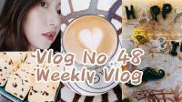 【Miss沐夏】Vlog No.48 Weekly Vlog | 和闺蜜做饼干 | 给爸爸过生日 | 日常生活