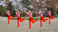 益馨原创广场舞《春天蝴蝶飞》 简单大众健身舞 附分解教学口令