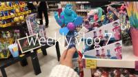 weekly vlog7|电影海王|享受阳光|包装礼品大挑战