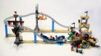 乐高创意百变系列31084第一形态游乐园过山车积木