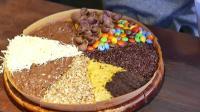 印尼街头小吃-彩虹奶油蛋糕