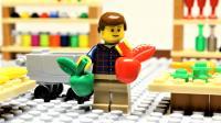 定格动画-乐高城市故事之痛苦的周末超市购物之旅