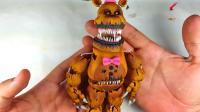 手办玩偶制作秀: 美妆打造玩具熊的五夜后宫弗雷迪