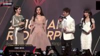 杨颖现身韩国MAMA颁奖典礼, 美到不行称礼服迪奥的是权志龙粉丝