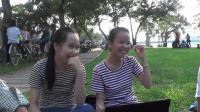 笑崩! 中国小哥在越南, 教越南妹子说湖北方言, 拍于越南顺化
