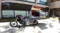 摩托车也能变房车, 牛人用它穿越南美洲, 全程3万多公里