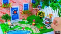 DlY迷你迪士尼梅里达花园装饰, 真的是让人喜欢哟!