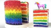 这就是传说中的彩虹蛋糕, 拿AR投射, 会有不一样的精彩!