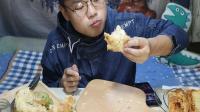 吃播大胃王: 这次吃不同味道的面包, 边吃边说, 实在太啰嗦了!