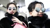 """现场:孙怡被记者称赞""""贵妇范"""" 狂笑后急忙辩解"""