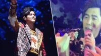 八卦:周杰伦台下与歌迷互动 歌迷用奶茶诱惑