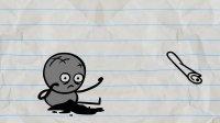 创意搞笑铅笔动画, 铅笔人和蜜蜂不打不相识, 终成了好朋友相处融洽