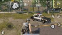 刺激战场: 玩家发明交警模式, 跑毒必须遵守交通规则!