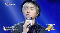 中国情歌汇: 小伙深情演唱《弯弯的月亮》, 歌声好清纯