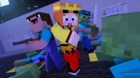 【小龙】我的世界MC僵尸末日EP6 Minecraft服务器小游戏搞笑视频
