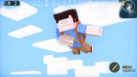 搞笑四川话配音: 我的世界遇上吃鸡游戏, 小伙这跳伞技术太搞笑了!