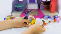 吸血鬼女孩玩具: 温蒂打开巧克力奇趣蛋模具贴纸说明书玩具
