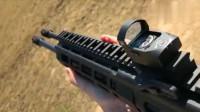 两根枪管的AR突击步枪射击起来也太爽了吧!