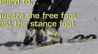 PMTS英文字幕滑雪指南: 用双脚而非双腿的夹手套, 提升内脚靠向外腿的能力和双脚同步性
