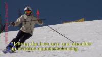 PMTS英文字幕滑雪指南: 用端杖和自然触杖练习, 提高双手双肩稳定性和全身平衡能力