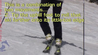 PMTS英文字幕滑雪指南: 用幻影移动转弯直至回山停止, 提升平衡能力和板刃抓雪能力